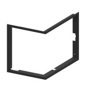 Рамка для камінної топки Hitze Albero 9 L.H 4/4
