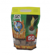 Розпалювач вогню в кубиках Hansa 50 шт.