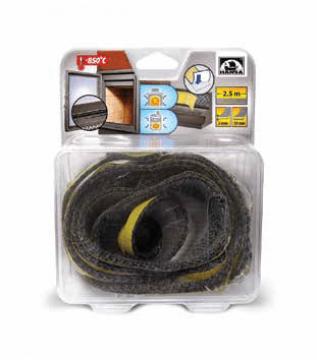 Шнур з керамічного волокна клейкий Hansa 10x2 мм, довжина 2,5 м фото