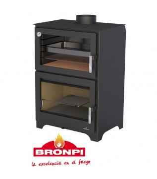 Духовка Bronpi Murano (набір з нержавіючої сталі Kit Inox 2)