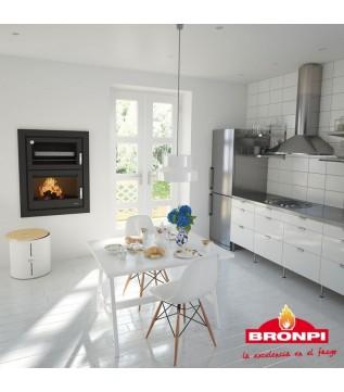 Духовка Bronpi Murano E (набір з нержавіючої сталі Kit Inox 2)