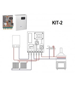 Опалювальний набір Bronpi KIT-2
