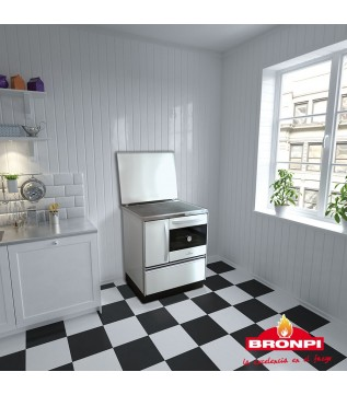 Плита Bronpi Cocina 70 Mf (White) фото