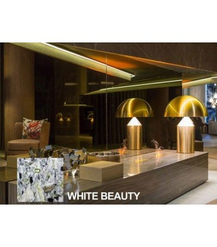 "Електрокамін GlammFire Gema ""White Beauty"" фото"