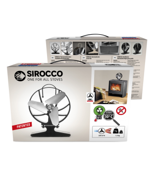 SIROCCO термоелектричний вентилятор для печей Hansa