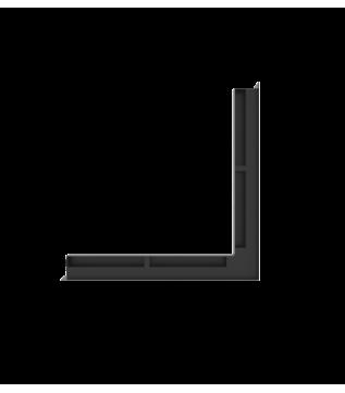 Вентиляційна решітка Hitze Slim 6x56x56 кутова