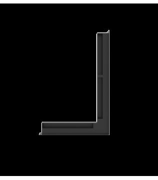 Вентиляційна решітка Hitze Slim 6X60X40 ліва