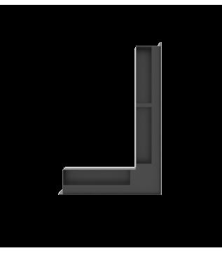 Вентиляційна решітка Hitze Slim 9x60x40 ліва