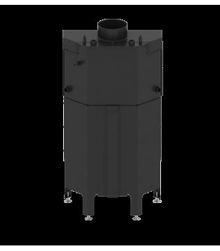 Камінна топка з водяним контуром Hitze Albero 59x43.S