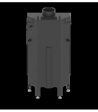 Камінна топка з водяним контуром Hitze Albero 54x39.S