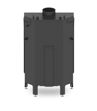 Камінна топка з водяним контуром Hitze Albero 68x43.S