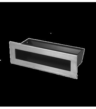 Вентиляційна решітка Hitze Slim Inox 6х20 фото