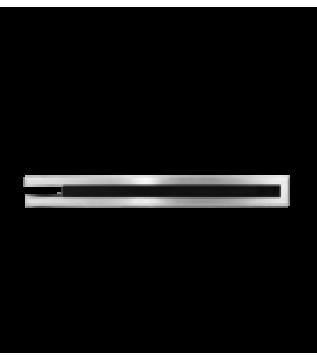 Вентиляційна решітка Hitze Slim Inox 6х60х40 Lewy