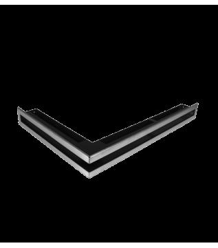 Вентиляційна решітка Hitze Slim Inox 6х60х40 Lewy фото