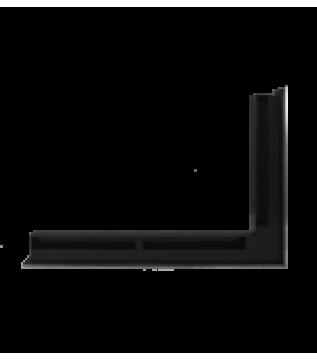 Вентиляційна решітка Hitze Slim Inox 6х60х40 Prawy