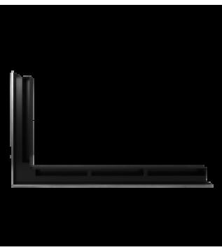 Вентиляційна решітка Hitze Slim Inox 6х80х45 Lewy