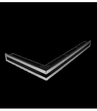 Вентиляційна решітка Hitze Slim Inox 6х80х45 Lewy фото