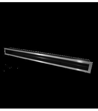 Вентиляційна решітка Hitze Slim Inox 9x100 фото