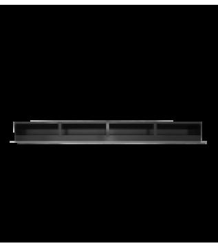Вентиляційна решітка Hitze Slim Inox 9x100