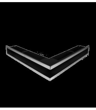 Вентиляційна решітка Hitze Slim Inox 9х56х56 фото