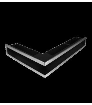 Вентиляційна решітка Hitze Slim Inox 9х60х40 Lewy фото