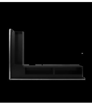 Вентиляційна решітка Hitze Slim Inox 9х60х40 Lewy