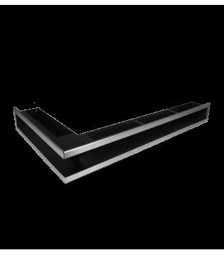 Вентиляційна решітка Hitze Slim Inox 9х80х45 Lewy фото