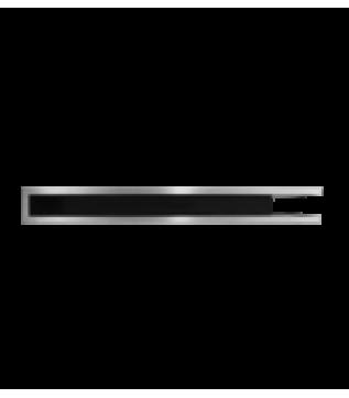 Вентиляційна решітка Hitze Slim Inox 9х80х45 Prawy