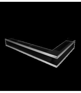 Вентиляційна решітка Hitze Slim Inox 9х80х45 Prawy фото