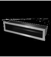 Вентиляційна решітка Hitze Slim Inox 6x40
