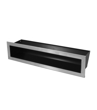 Вентиляційна решітка Hitze Slim Inox 9x40 фото