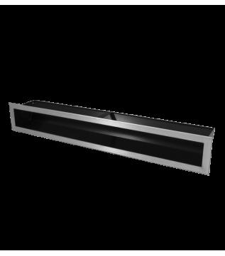 Вентиляційна решітка Hitze Slim Inox 9x60 фото