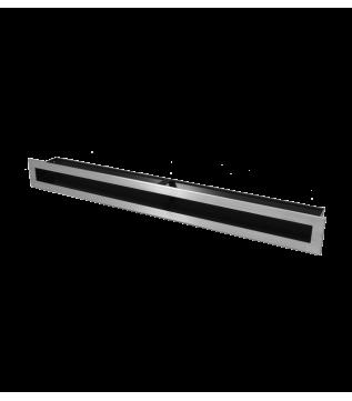 Вентиляційна решітка Hitze Slim Inox 6x60 фото