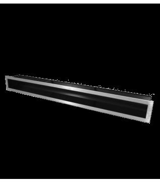 Вентиляційна решітка Hitze Slim Inox 9x80 фото
