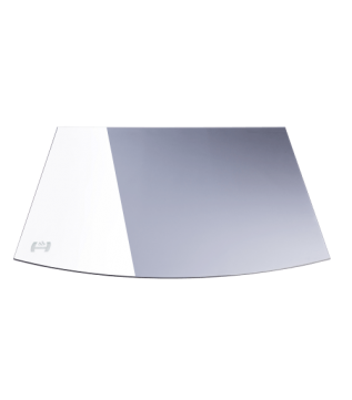 Скляна підставка під камін Hitze 1067 x 1260 фото