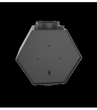 Теплообмінник водяний з трубами Hitze 10 кВт Ø200 фото