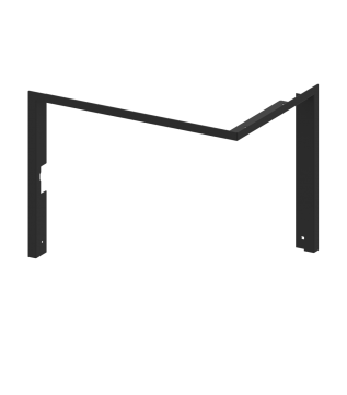 Рамка для камінної топки Hitze Albero AL14R.H (3/4) фото