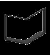 Рамка для камінної топки Hitze Albero AL16LG.H (4/4)