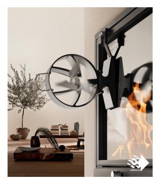 SIROCCO PLUS термоелектричний вентилятор для печей Hansa