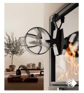 Набір Hansa  для вертикального кріплення вентилятора SIROCCO PLUS