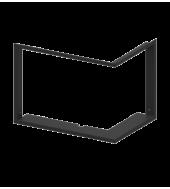Маскувальна рамка для камінної топки Hitze ALAQS54X39.R (4/4 25 мм)