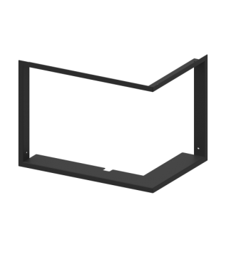 Маскувальна рамка для камінної топки Hitze HST59X43.RG (4/4 25 мм) фото