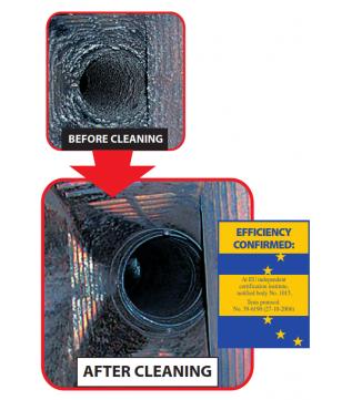 Ефективний очищувач сажі для чистки димоходу Hansa (1 кг.)