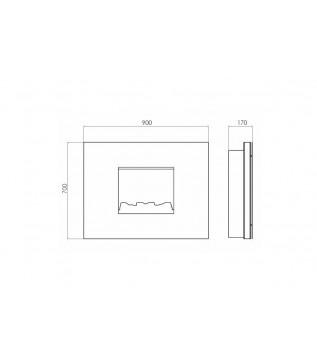 Электрокамин GlammFire SENSES 3D III